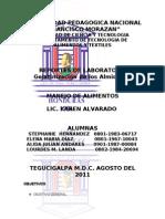 LABORATORIO DE ALMIDONES