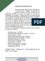 Exercice de Fiscalite Salaire Iam2012