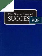 Seven Laws of Success (Prelim 1974)