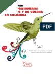 Testimonio de Los Prisioneros Politicos y de Guerra en Colombia