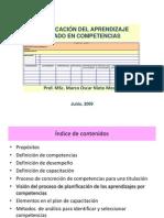 Planificacion del Aprendizaje Basado en Competencias
