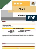 Programa de Fisica-II Serie Programas de Estudio