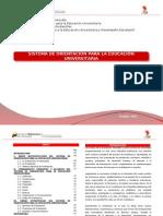 SISTEMA DE ORIENTACIÓN PARA LA EDUCACIÓN UNIVERSITARIA I