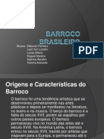 BARROCO BRASILEIRO