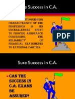 sure success in c.a.