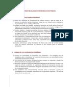 Perfil de Egreso de La Licenciatura en Educacion Primaria