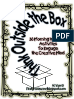 Think Outside the Box Thursday