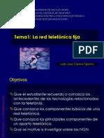 ELT3632 2012-1 Tema1 Telefonía fija 1