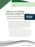 Ciência e tecnologia principais artigos técnicos