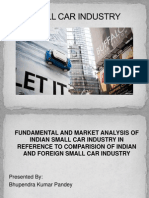 Small Car Industry