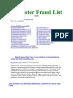 My Voter Fraud List 120602