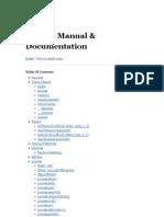 Node.js Manual & Documentation