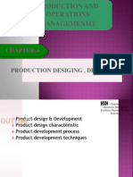 Product Desiging and Development