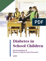 Diabetes and School Children