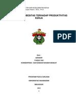 Asrianti Tugas K3 by Dr. Furqaan,Pengaruh Obesitas Terhadap Produktivitas Kerja