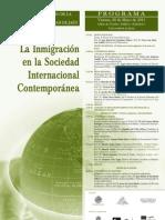 Cartel Globalizacion 2011 Jaen Migraciones
