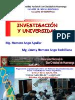 C14 INVESTIGACION Y UNIVERSIDAD