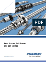Lead Screws Ball Screws BallSplines Cten