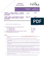 Ahinsha Vatika East Delhi-PRICE LIST-Call-09958959555