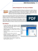 EMCO Remote Desktop Data Sheet