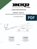Condor Lift Model 68