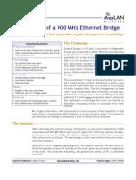 900MHz Bridge Case Study