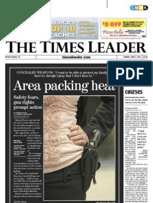 Times Leader 06-03-2012 | Mega Millions | Hosni Mubarak