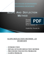 Slope Nd Deflection Ppt