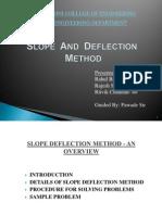 Slope Nd Deflection Ppt