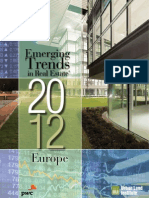 PWC Emerging Trends Real Estate Europe 2012