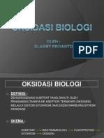 12. OKSIDASI BIOLOGI