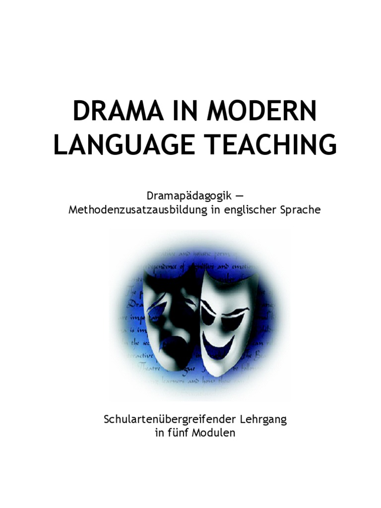 Drama in MLT 1 | Postgraduate Education | Teachers