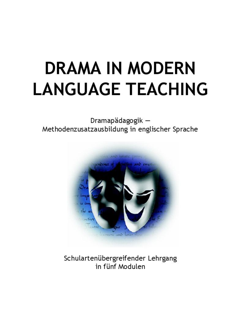 Drama in MLT 1 | Postgraduate Education | Teachers