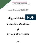 Algebra Liniara,