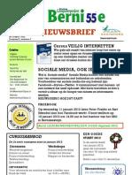 Bernisse 55plus - Nieuwsbrief December 2011