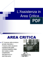L'assistenza in area critica