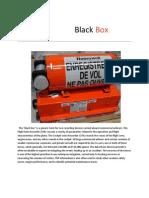 Black Box Details