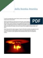 La Storia Della Bomba Atomica