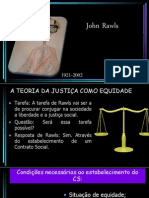 John Rawls e a Teoria da Justiça como Equidade