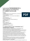 gestione infermieristica dei farmaci d'urgenza e cardiovascolari