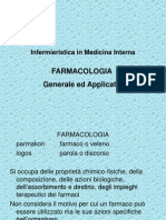 infermieristica in medicina interna FARMACOLOGIA generale e applicata