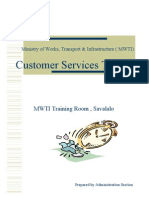 Presentation Customer Services
