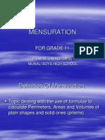 Mensuration