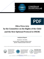 Ultra Vires Acts by the Committee on the Rights of the Child (Doc. INT-12-034en)