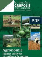 Agronomie - Plantes cultivées et systemes de cultures