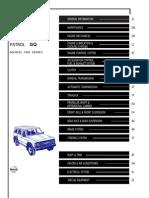 GQ Patrol Service Manual - Y60
