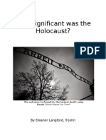 How Significant Was the Holocaust