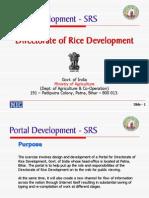 Portal Development - SRS