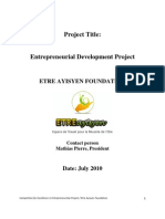 Entrepreneurship Documents Haiti