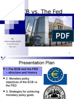 ECB vs FED Monetary Policy (2011)